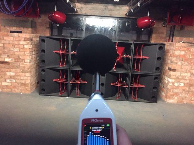 entertainment noise assessment
